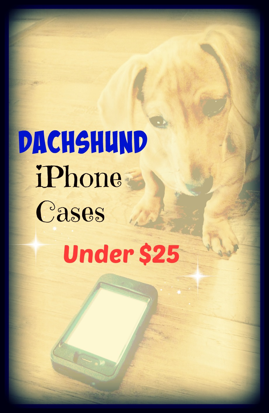 Dachshund iPhone Cases